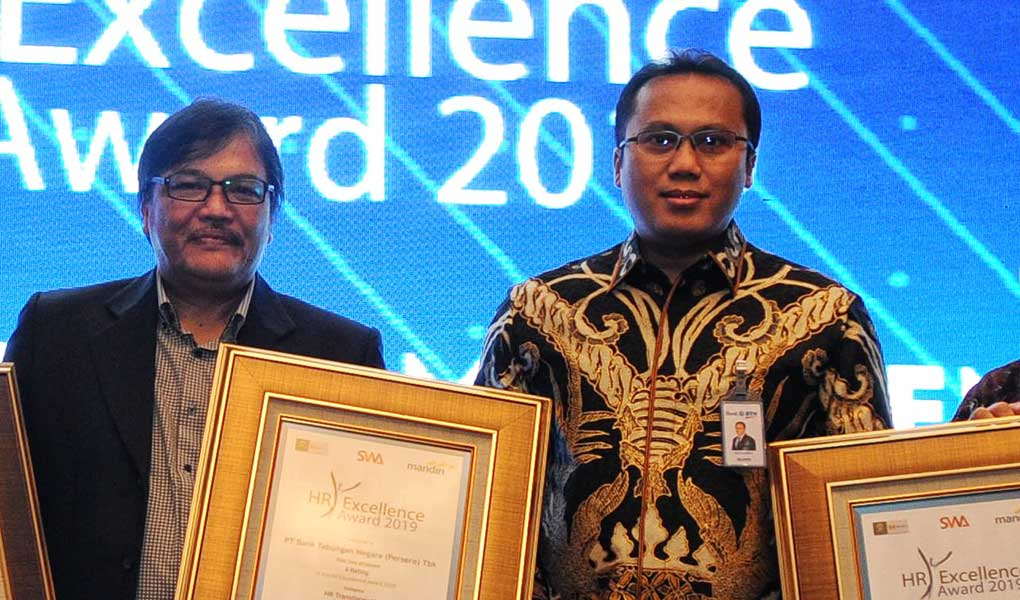 BTN Sabet Penghargaan Di Bidang Pengelolaan SDM