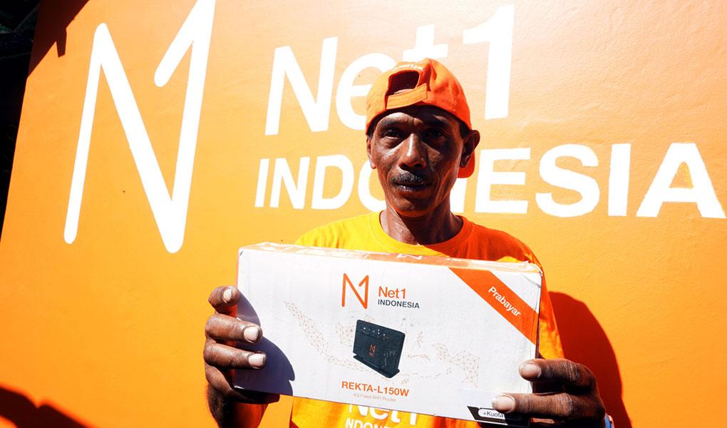 NET 1 Permudah Internet di Pelosok Desa