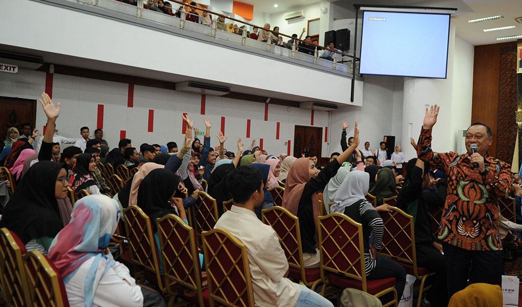 BTN Ajak Mahasiswa Andalas Sambut Industri 4.0