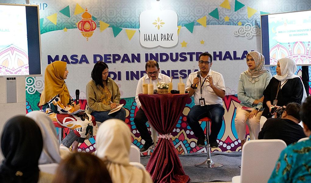 Telkom Dukung Indonesia Jadi Pemimpin Industri Halal Kelas Dunia