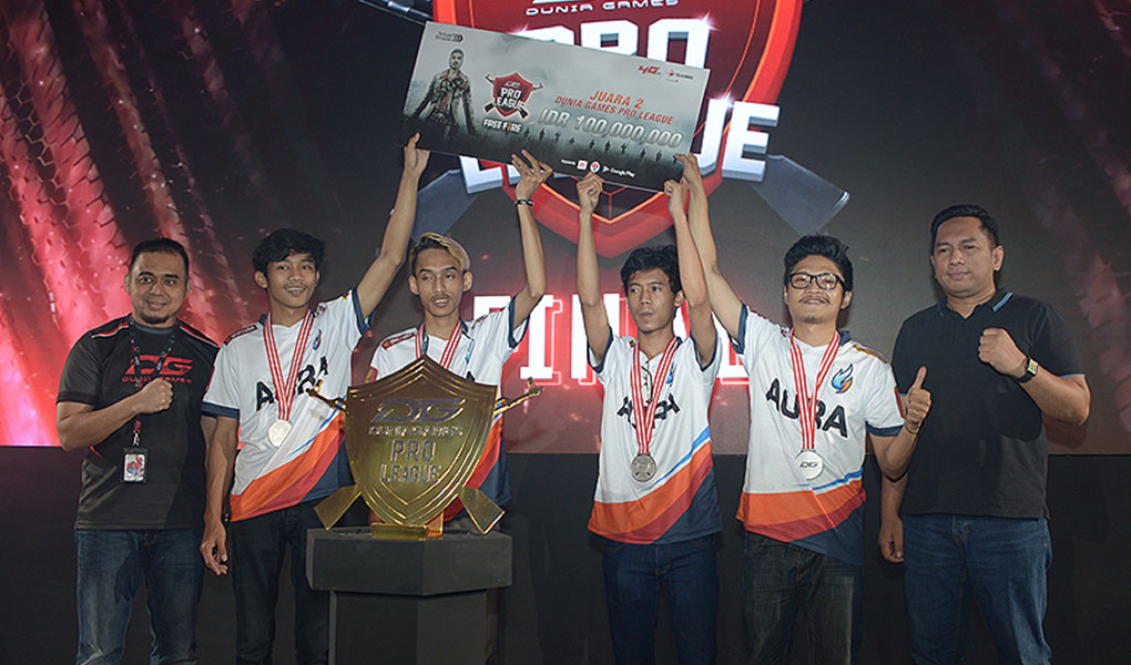 Grand Final Dunia Games Pro League Telkomsel