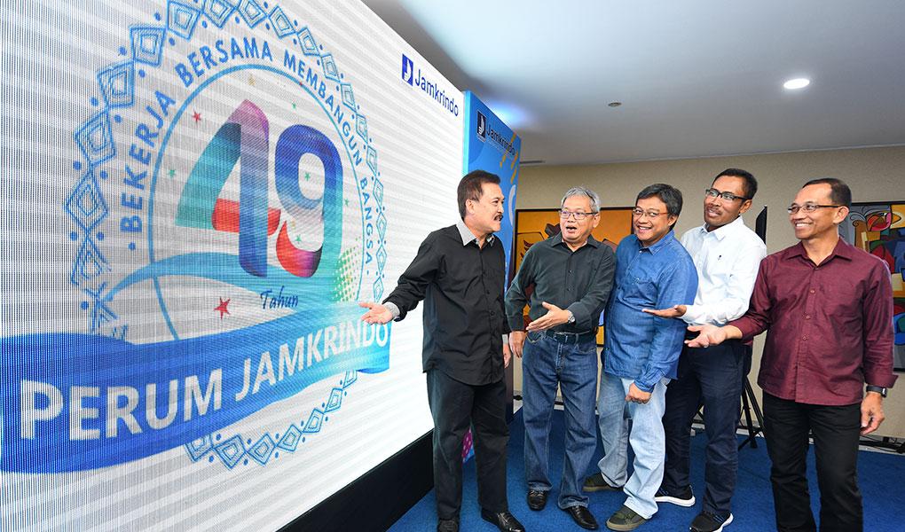 Launching Logo HUT Ke 49 Perum Jamkrindo
