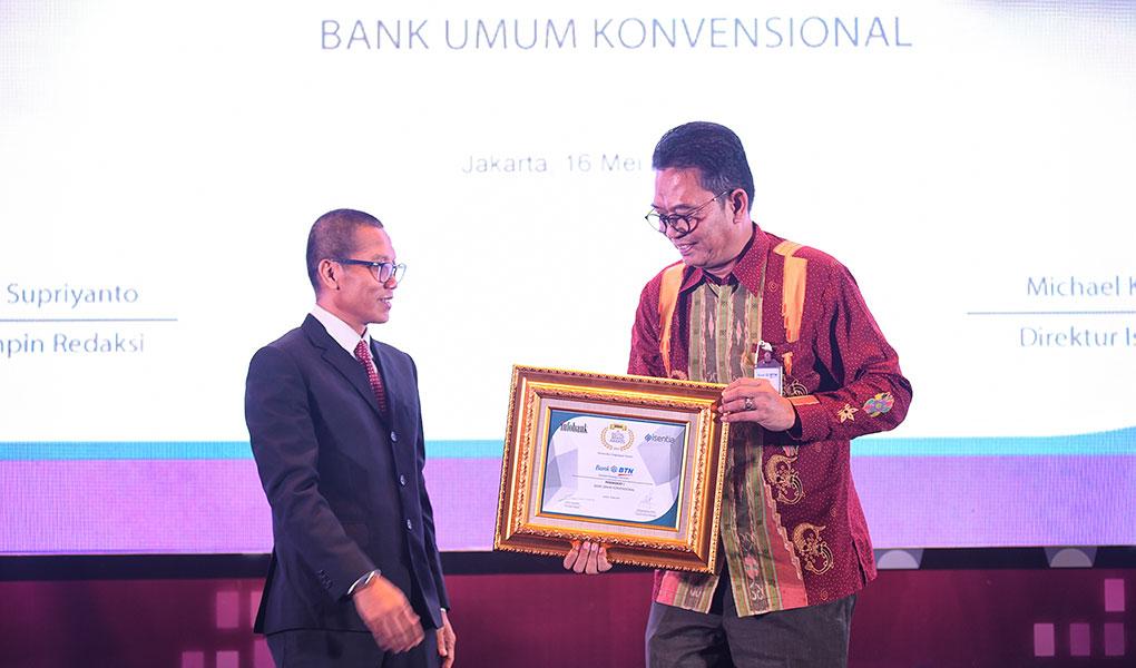 Bank BTN Sabet Penghargaan
