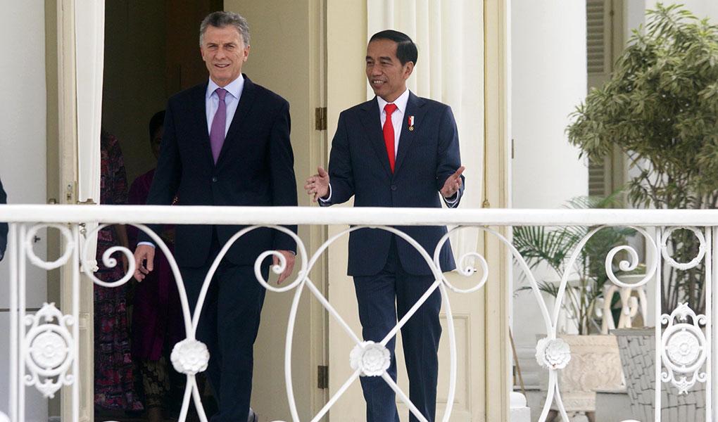 Presiden Jokowi Terima Kunjungan Presiden Argentina