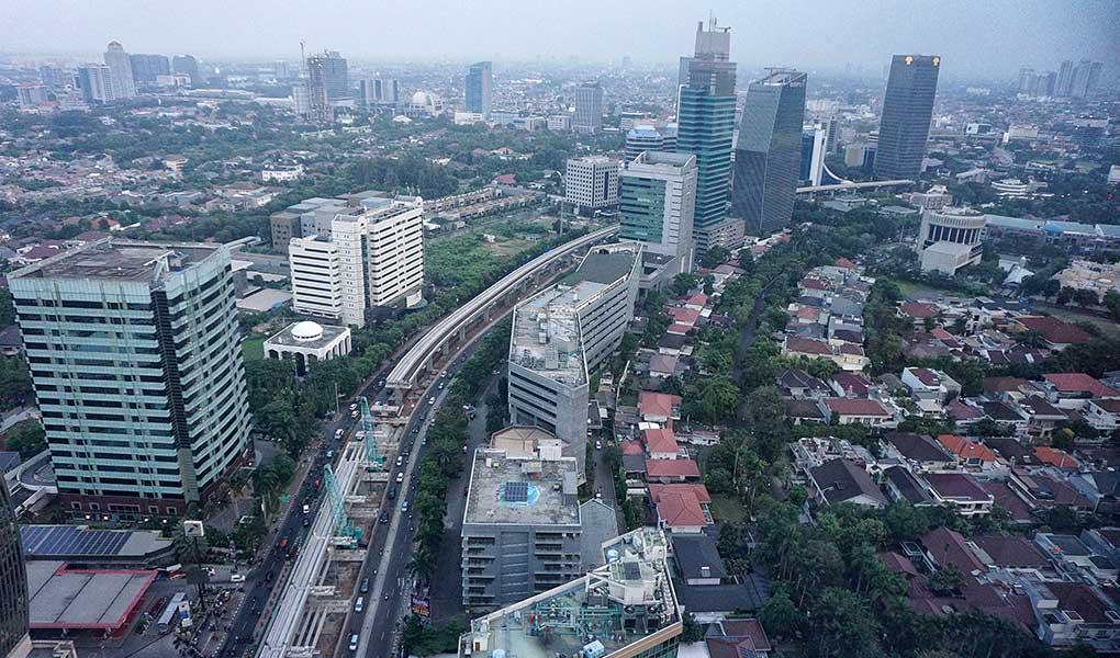 Proyek Pembagunan LRT Jabotabek