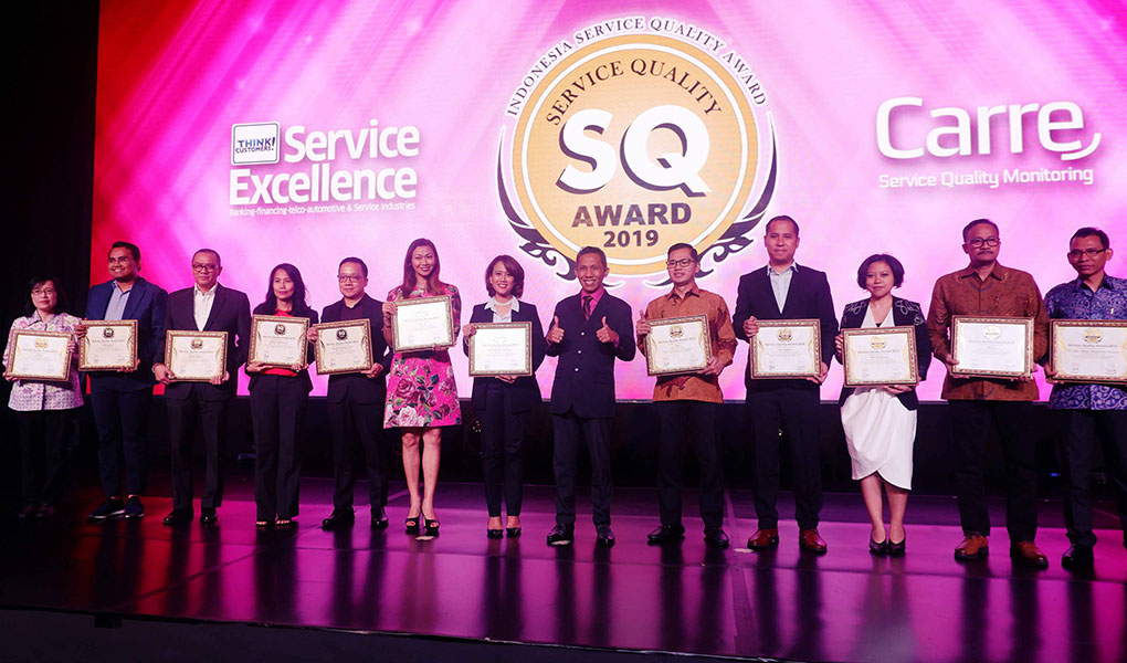 Wom Finance Raih Penghargaan Service Quality Award 2019