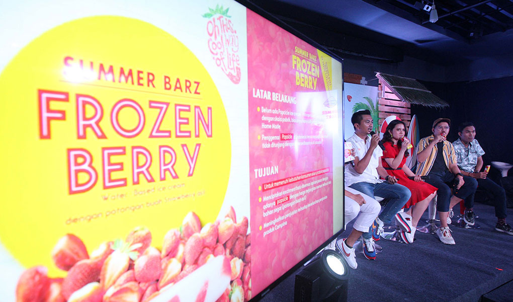 Campina Persembahkan Summer Barz - Frozen Berry