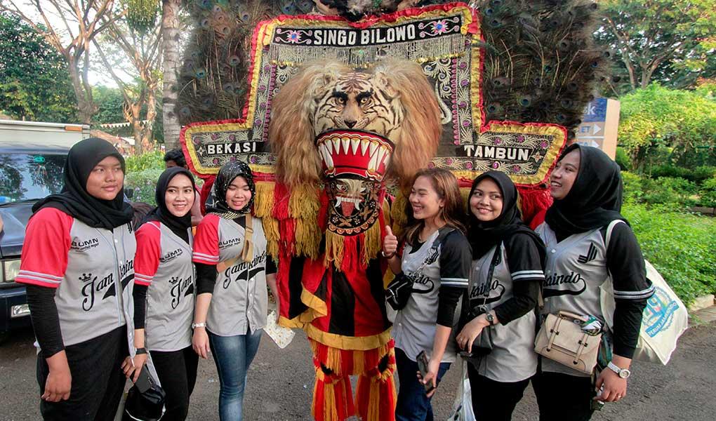 Perayaan HUT Jamkrindo
