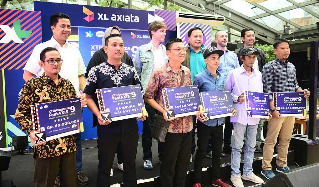 Pemenang XTRAvaganza dan FantAXIS sesi ke-9