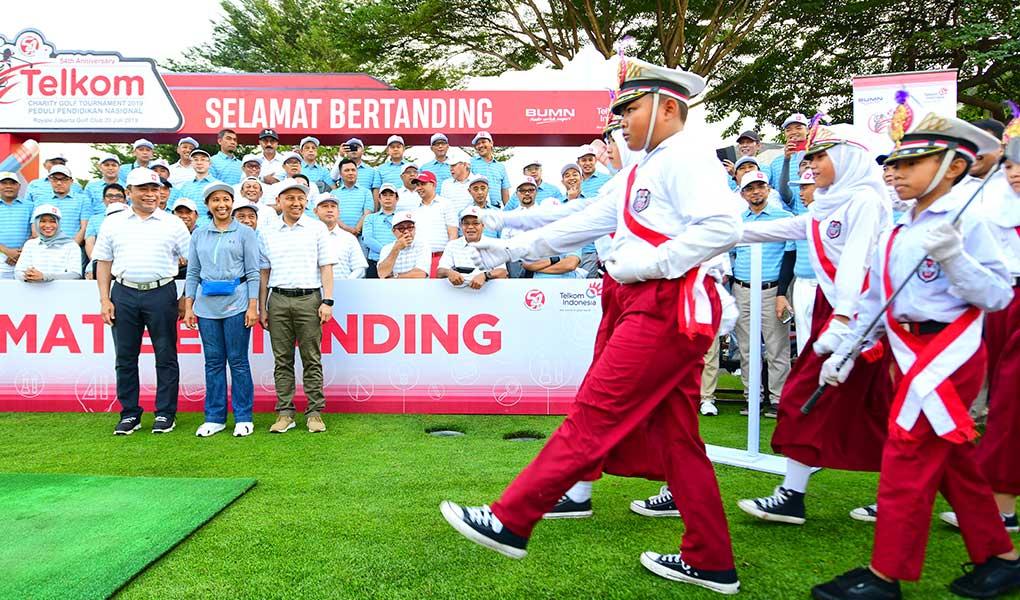 Golf Turnamen HUT Telkom Ke-54