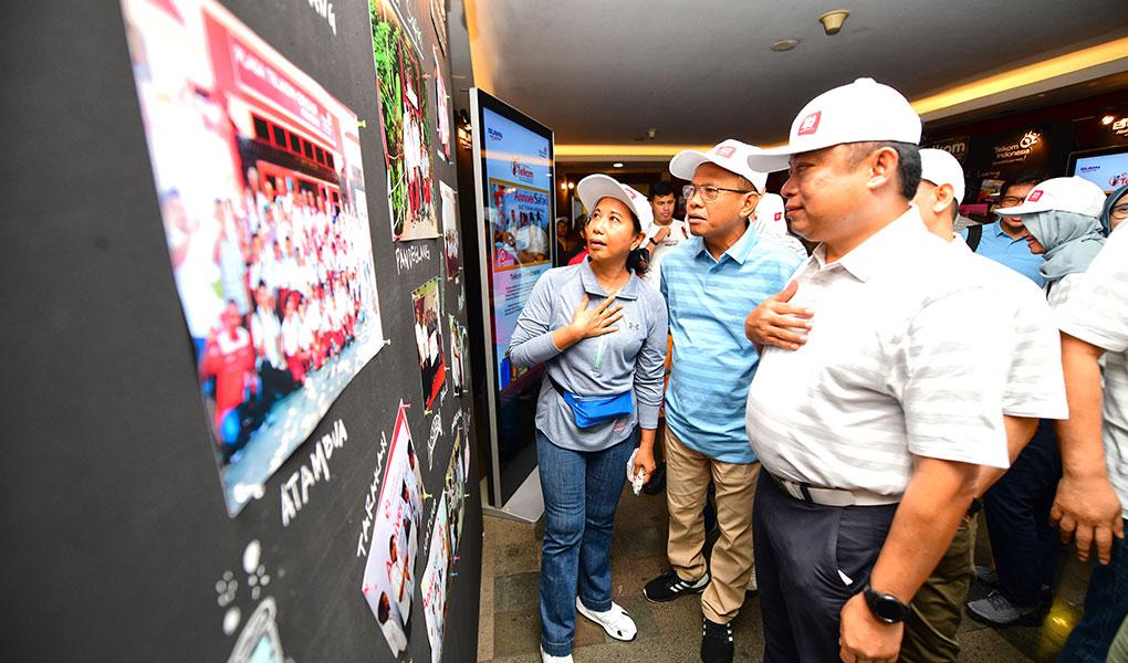 Telkom Peduli Pendidikan Nasional Di HUT Ke 54
