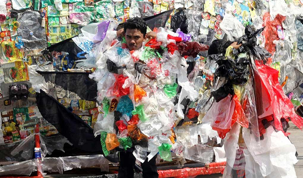 Aksi Tolak Plastik Sekali Pakai