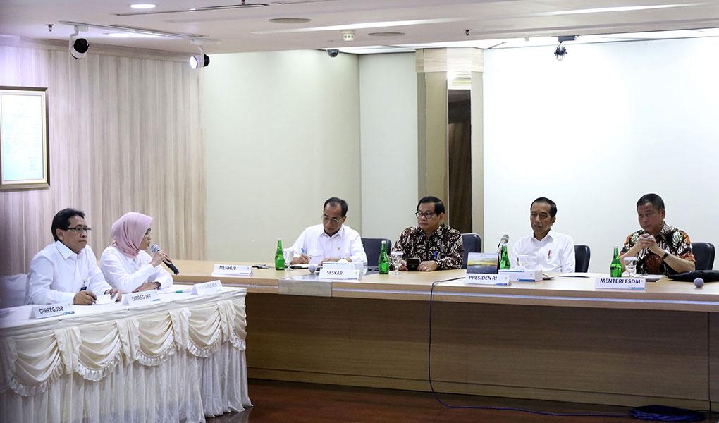 Presiden Jokowi Datangi PLN
