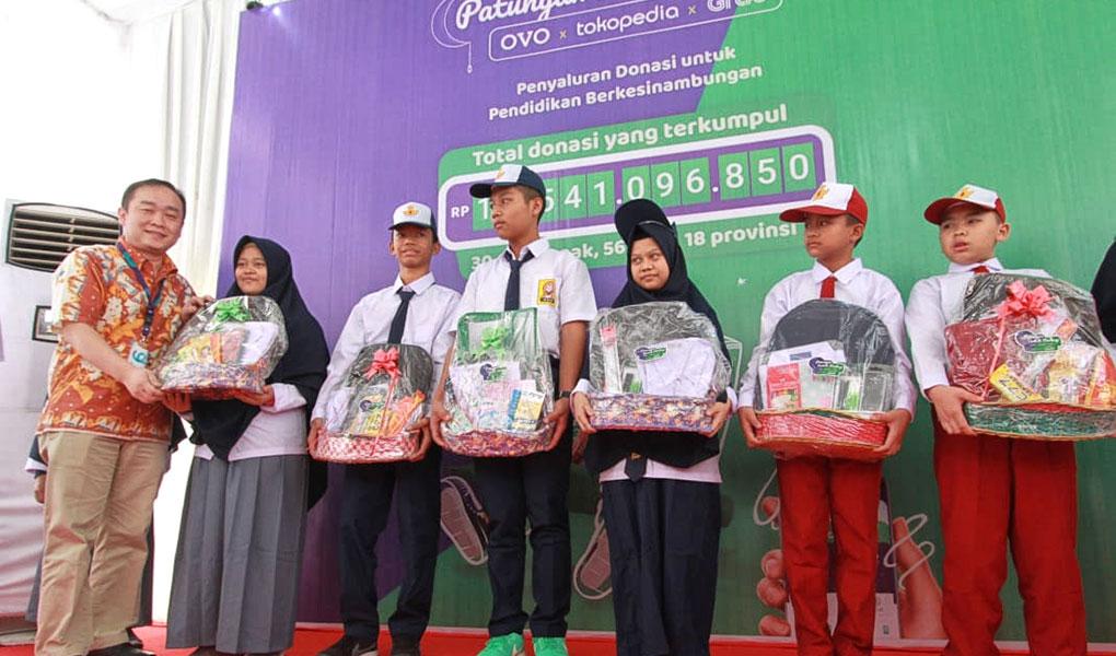 Distribusi Donasi Patungan untuk Berbagi