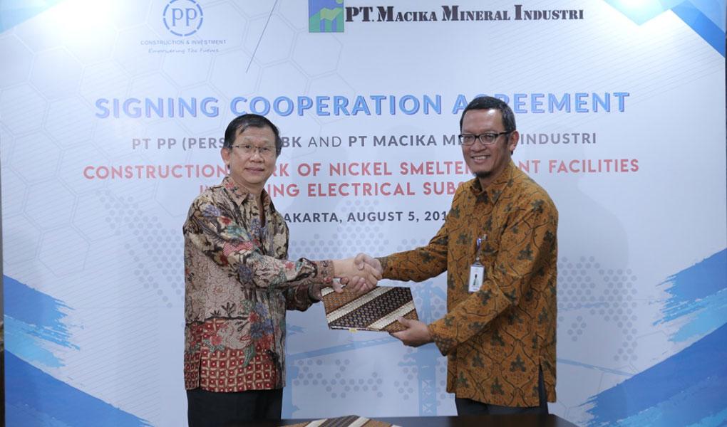 Tandatangani Dua Kerjasama PTPP Perluas Portfolio Bisnis