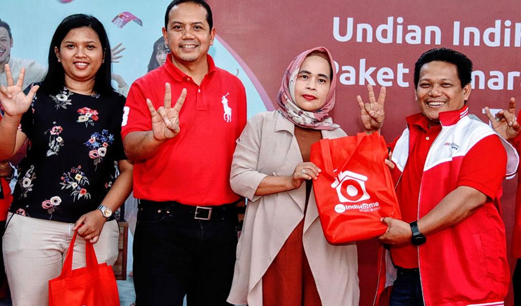 Telkom Umumkan 125 Pemenang Undian IndiHome