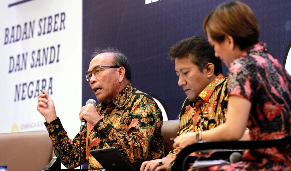 Diskusi Rancangan Undang-Undang Keamanan Nasional dan Ketahanan Siber