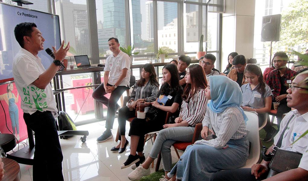 Nongkrong Interaktif Milenials BNI manjakan Di Nasabah