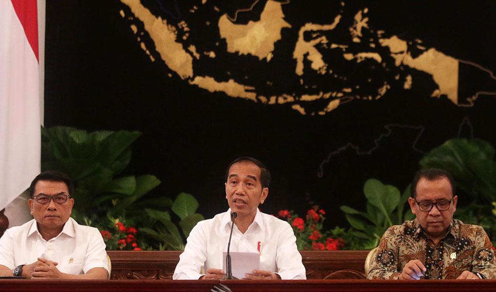 Presiden Jokowi Berikan Keterangan Terkait Revisi UU KPK