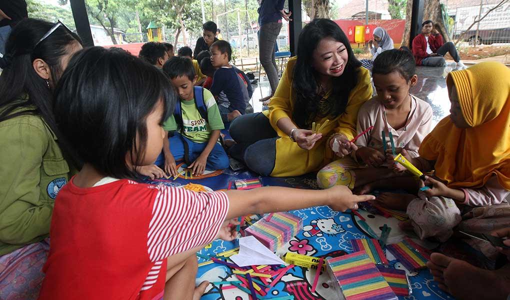 CSR Akhir Pekan Ceria Totalindo