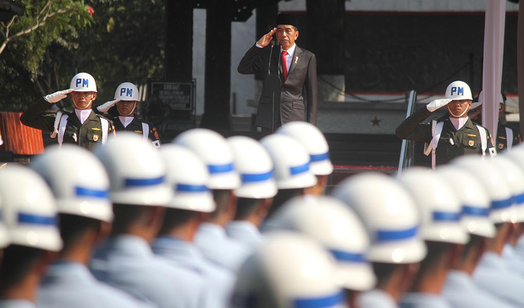 Presiden Jokowi Pimpin Upacara Hari Kesaktian Pancasila