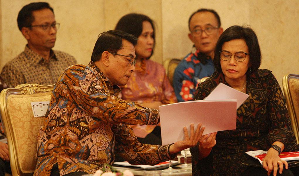 Presiden Jokowi Pimpin Sidang Kabinet Paripurna
