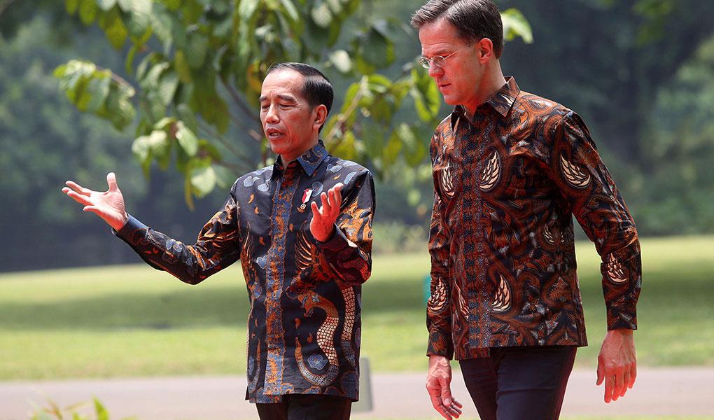 Presiden Jokowi Terima Kunjungan PM Belanda