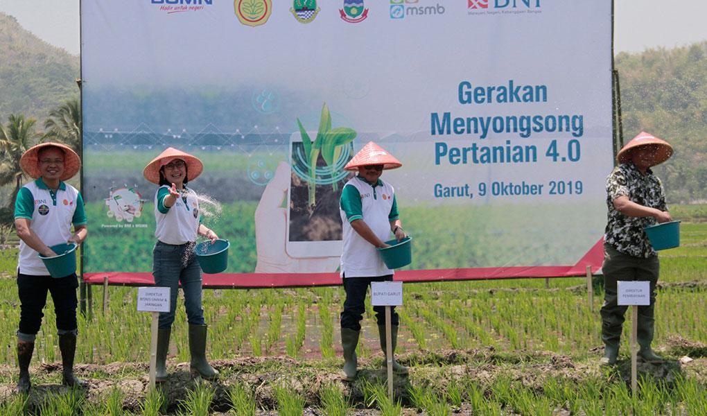 BNI Sambut Gerakan Menyongsong Pertanian 4.0
