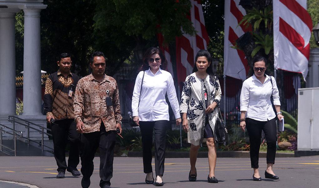 Bupati Minahasa Selatan Datang Ke Istana Kepresidenan