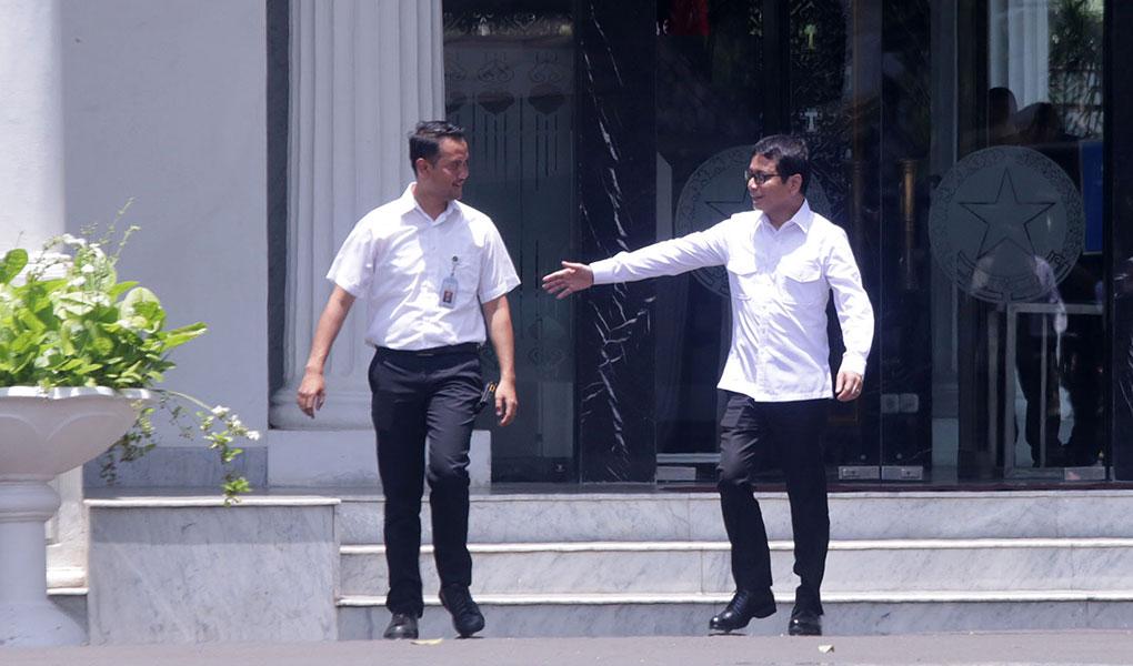 Wishnutama Datang Ke Istana Kepresidenan