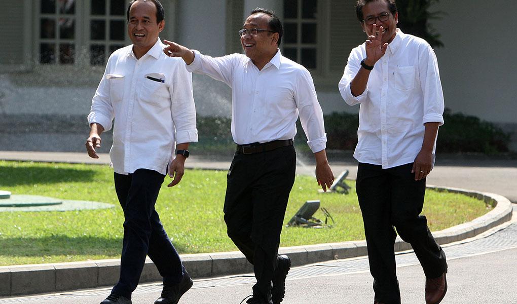 Pratikno Datang Ke Istana Kepresidenan