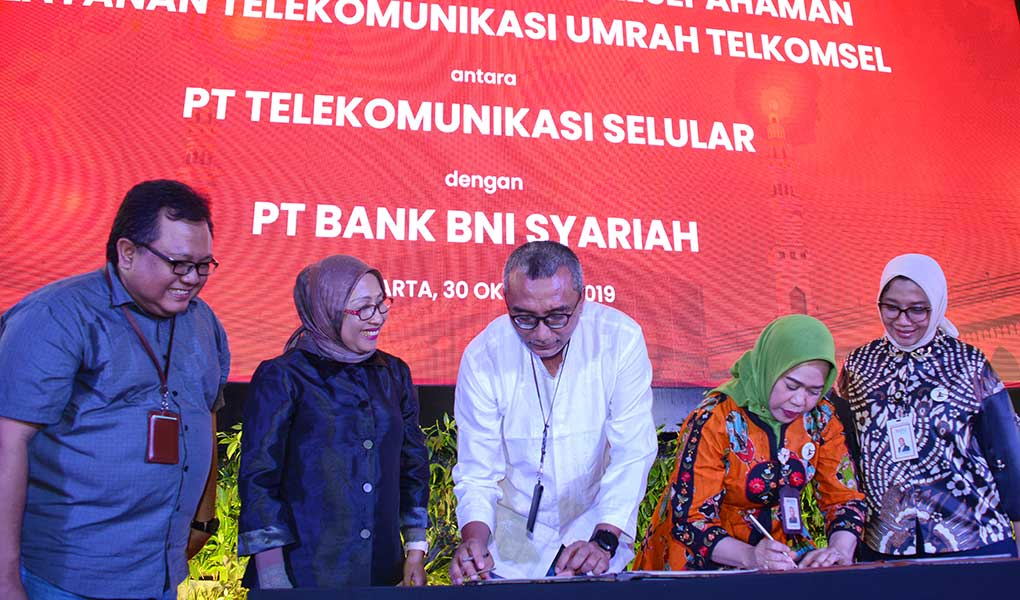 Telkomsel Gelar Umrah Fair