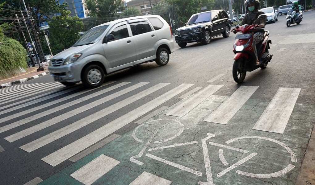 Penundaan Perluasan Jalur Sepeda