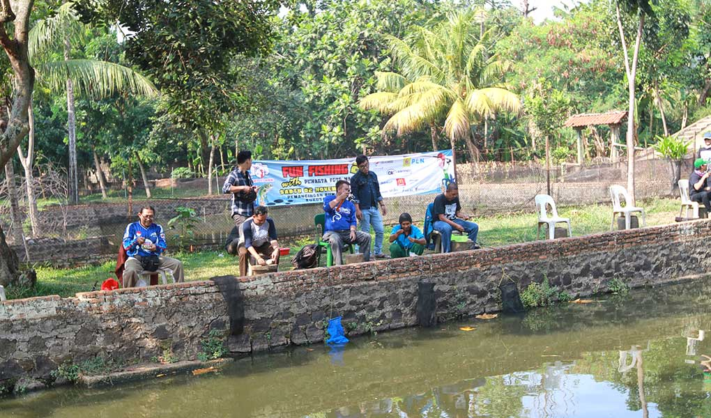 Silaturahmi Pewarta Foto Dengan Fun Fishing
