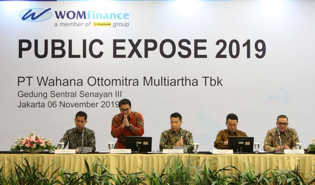 Wom Finance Catatkan Laba Bersih Rp 156 Miliar