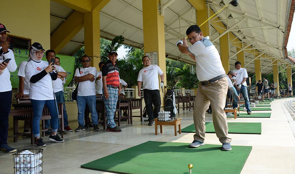 Pesta Media Fun Golf 2019 Foreksis