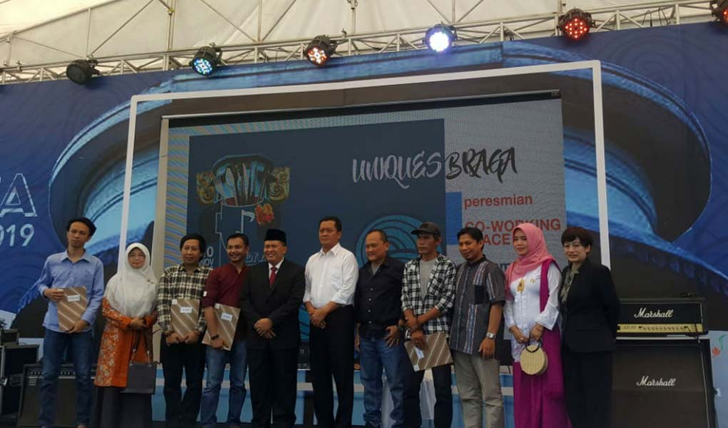 Co-working Space Di Kota Bandung dan Kampung Wisata Kreatif Braga Resmi Diluncurkan