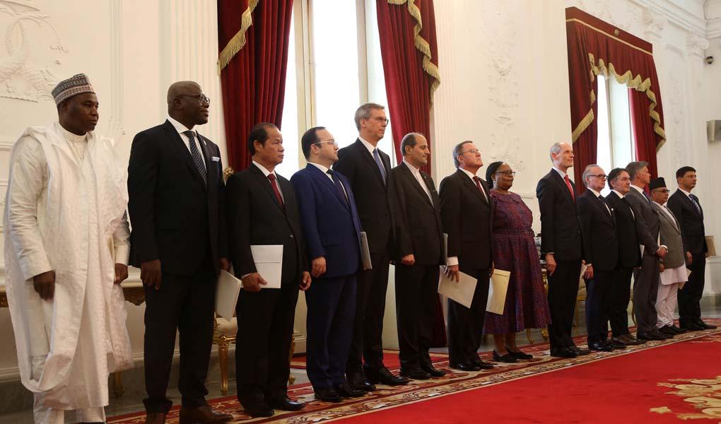 Presiden Jokowi Menerima Duber LPPB