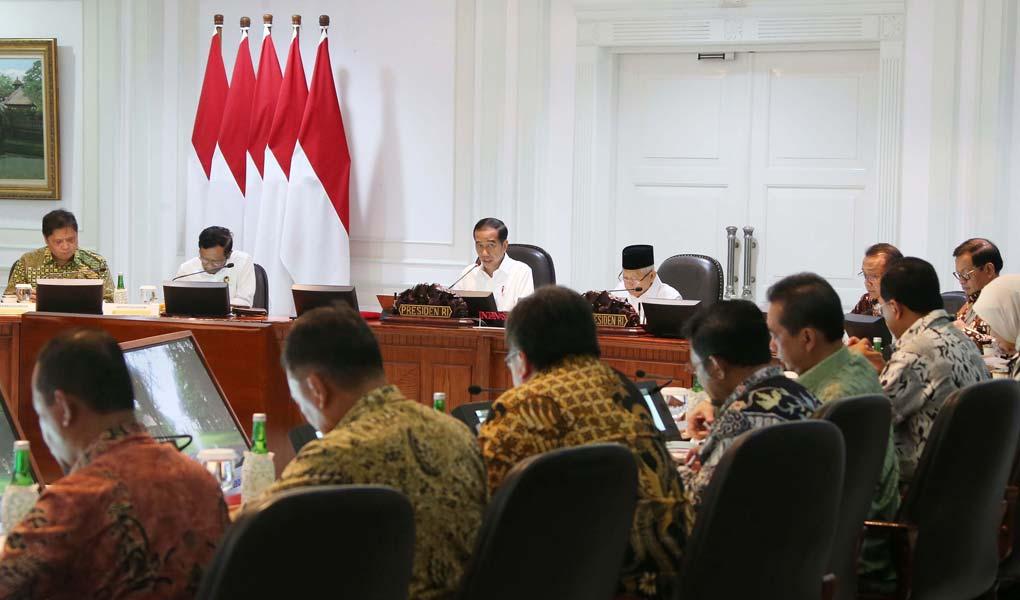 Presiden Jokowi Pimpin Ratas Percepatan Kemudahan Berusaha
