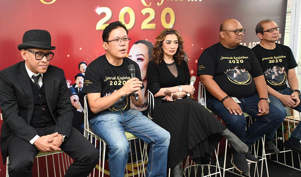 Reza Artamevia Semarakkan Malam Tahun Baru 2020 The Patra Bali