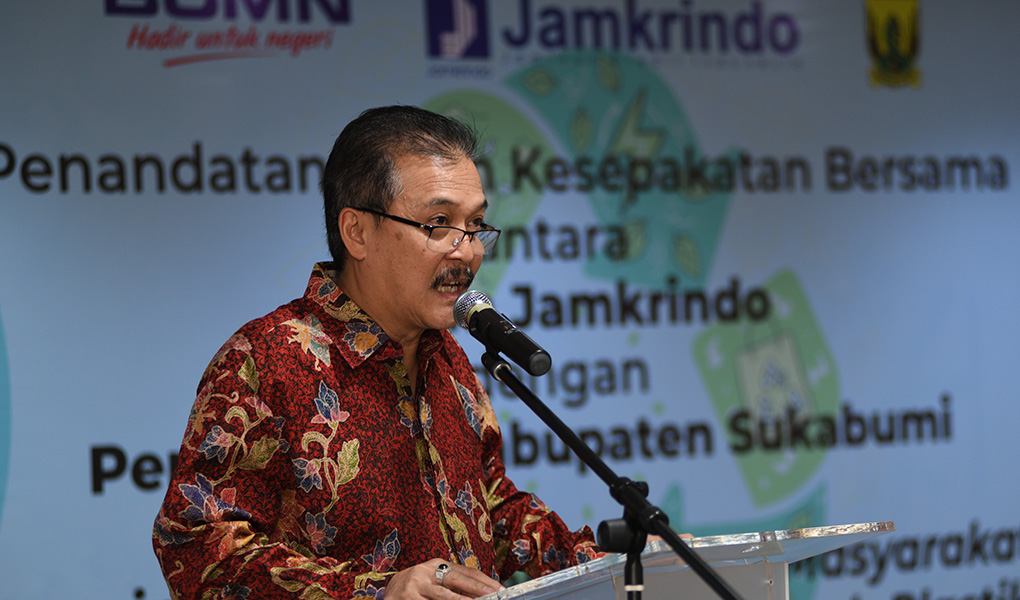 Jamkrindo Dukung Kampanye bebas Sampah Plastik