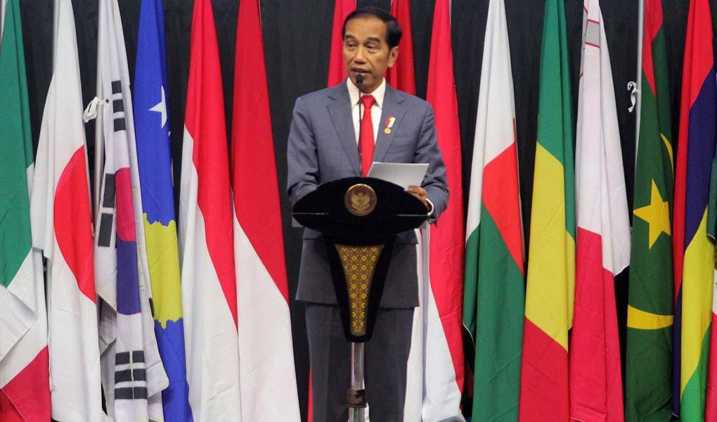 Presiden Jokowi Buka Kongres Notaris Dunia