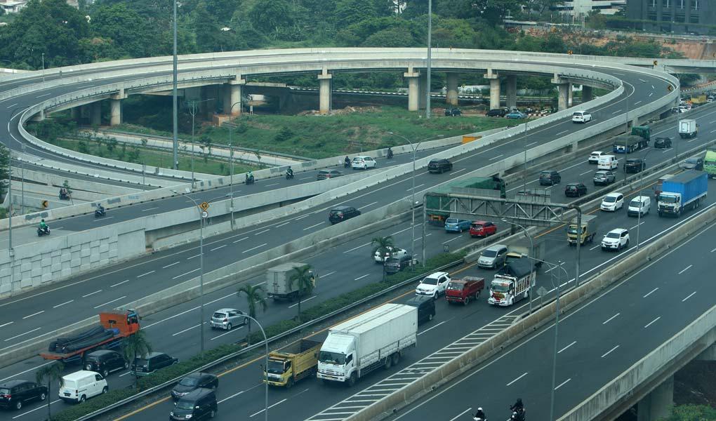 Tingkat Kemacetan di Jakarta Berkurang