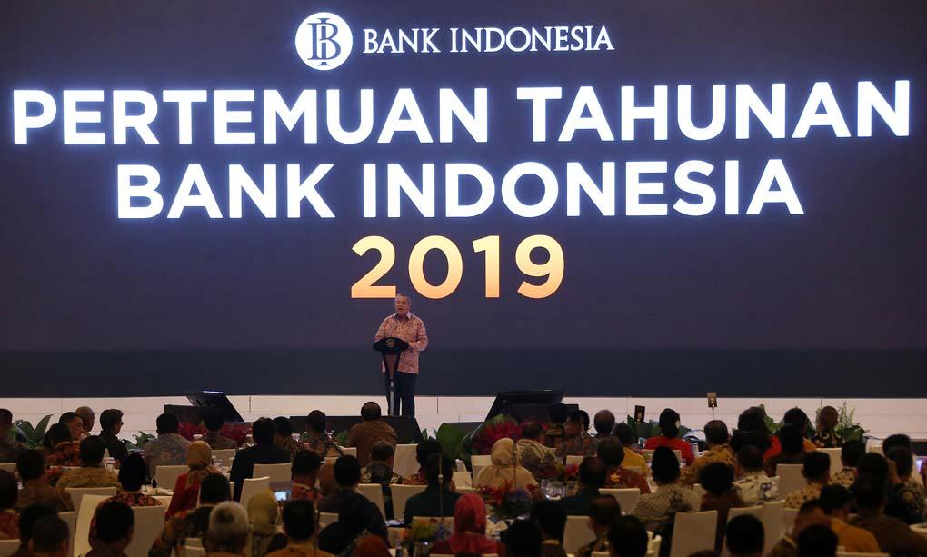 Presiden Jokowi Hadiri Pertemuan Tahunan BI