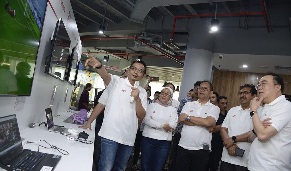 Telkomsel Launching 5G di Batam