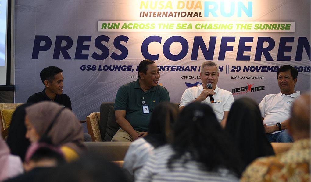 Kickoff Mandiri Nusa Dua International Run 2019