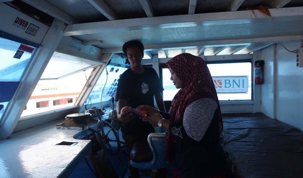 BNI Tingkatkan Layanan Digital di Kepulauan Seribu melalui Agen 46 Terapung
