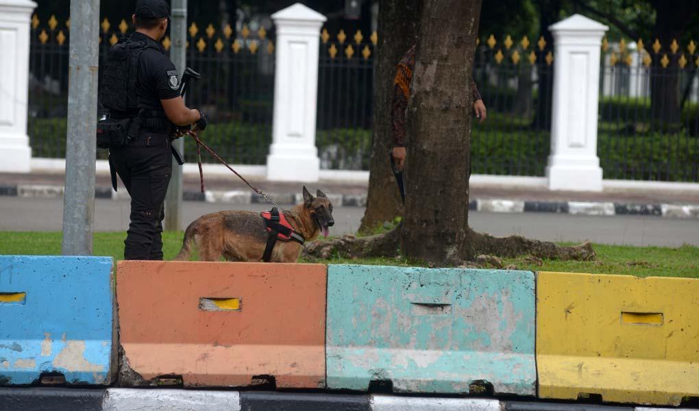 Pasca Ledakan Monas Paspampres Perketat Penjagaan Istana Presiden