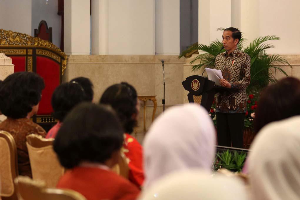 Presiden Jokowi Buka Kongres XXV Kowani