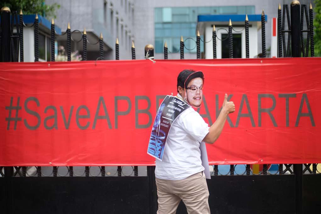 Aksi Selamatkan APBD DKI Jakarta